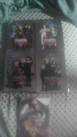 Fullmetal alchemist full series season 1 part 1 and 2 season 2 part 1 and 2 and the movie conqueror of shambaplla for Sale in Glen Burnie, MD