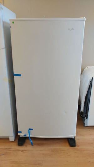Whirlpool stand up freezer for Sale in Clementon, NJ