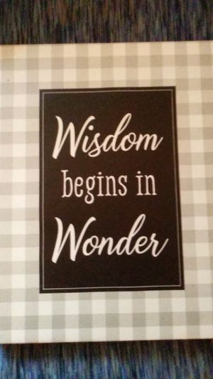 Inspiring Quote, Hangable Canvas for Sale in Russellville, KY