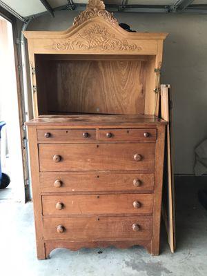 Antique tall boy dresser for Sale in Artesia, CA