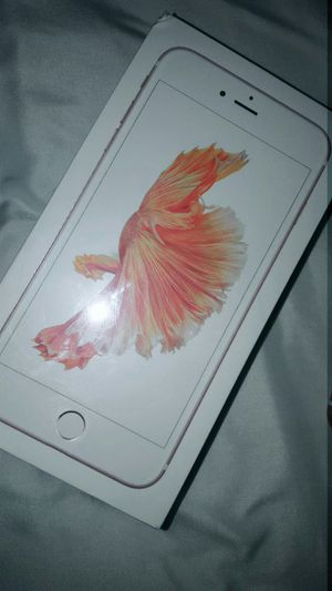 Iphone 6s plus brand new in box for Sale in Reedley, CA