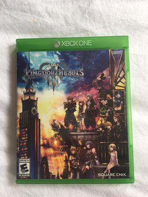 Kingdom Hearts 3 for Xbox One - very good condition for Sale in Boston, MA