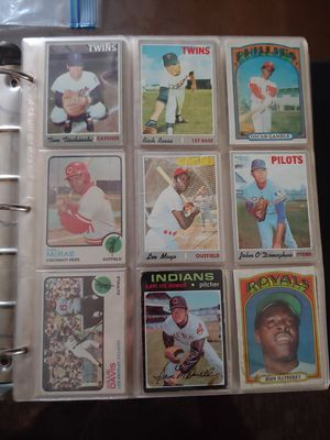Old baseball cards for Sale in Azusa, CA