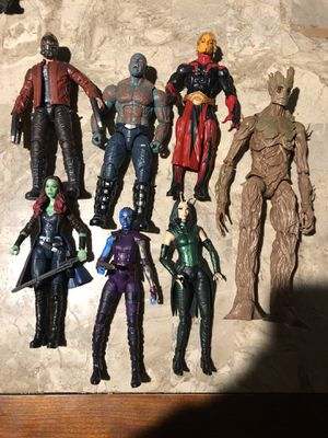 Marvel legends guardians of the galaxy for Sale in Sacramento, CA