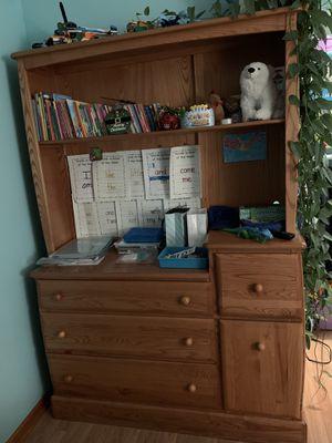 Oak wood nursery dresser for Sale in IL, US