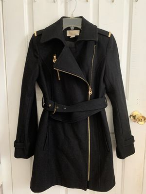 Michael Kors Asymmetrical Belted Coat for Sale in Queens, NY
