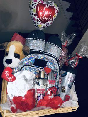 Victoria's Secret Valentines basket!! for Sale in Montpelier, MD