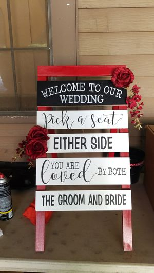 Wedding welcome sign for Sale in West Monroe, LA