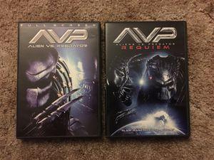 Alien Vs Predator. Parts 1 and 2. for Sale in Harrisonburg, VA