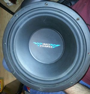 """Image Dynamics ID12 12"""" Subwoofer Mint for Sale in Norton, OH"""