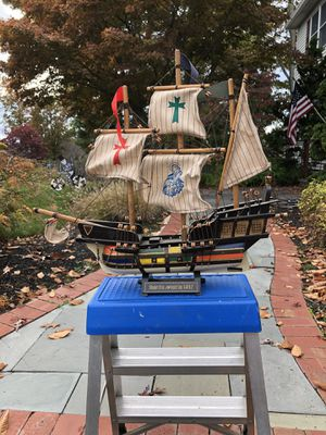 Santa Maria 1492 Wood Ship for Sale in Wayne, NJ