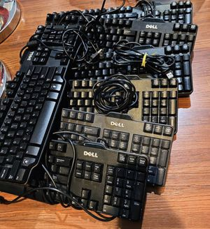 7 Dell Computer USB Working keyboards for laptops desktop or Mac for Sale in HOFFMAN EST, IL