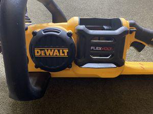 Dewalt FLEXVOLT chainsaw TOOL ONLY for Sale in Ontario, CA