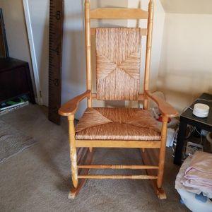 Wicker Rocking Chair for Sale in Woodbridge Township, NJ