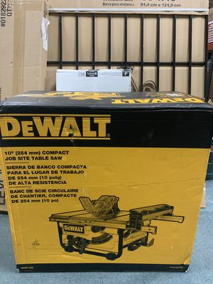 DEWALT 15 Amp 10 in. Compact Job Site Table Saw with Site-Pro Modular Guarding System for Sale in Houston, TX