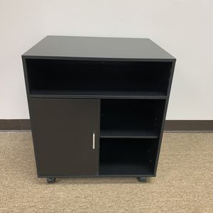 Sturdy Rolling Printer Stand With Organizer For Home & Office, Black. for Sale in Norcross, GA