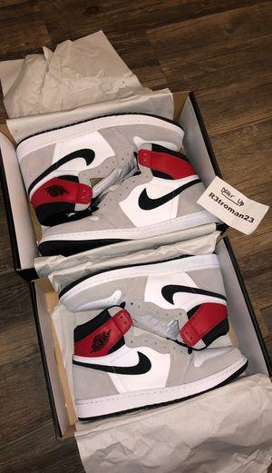 Nike Air Jordan 1 Retro High Light Smoke Grey 8.5, 13 for Sale in Etiwanda, CA