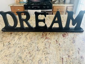 Decorative words for Sale in Alexandria, VA