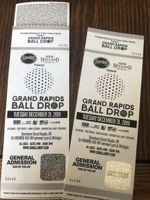 Ball Drop tickets for Sale in Kentwood, MI
