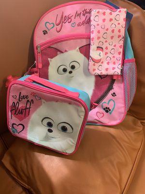 Secret life of Pets 2, girls backpack for Sale in Houston, TX