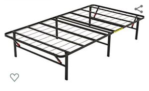 Metal bed frame - twin for Sale in Westlake, OH