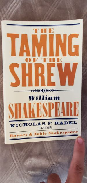 Shakespeare The Taming of the Shrew for Sale in La Habra, CA