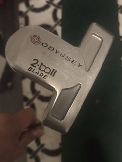 Odyssey White Hot 2-Ball Blade Putter Steel Right for Sale in Los Angeles,  CA