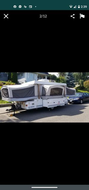 2003 coleman pop up tent trailer with slide out for Sale in Marysville, WA