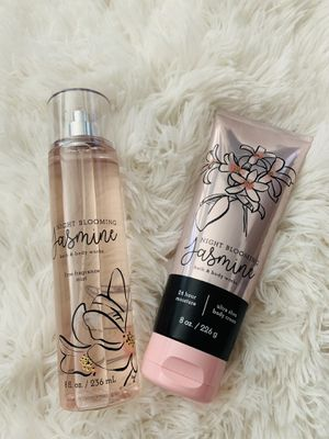 Bath & body works night blooming jasmine set for Sale in Victorville, CA