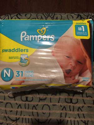 Pampers newborn for Sale in Grand Prairie, TX