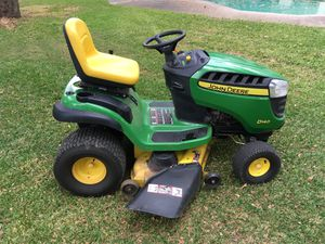 For Sale (or Trade) John Deere D140 Lawn Tractor Mower Low Hours for Sale in Grand Prairie, TX