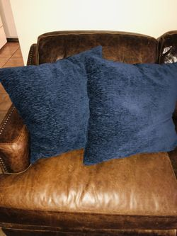 Dark blue couch pillows for Sale in Salt Lake City,  UT