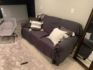 Full sofa w/ slipcover for Sale in Orchard Park, NY