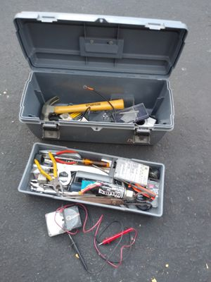 Tool box with miscellaneous tools for Sale in Las Vegas, NV
