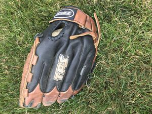 "Louisville slugger tps fpa1201 fastpitch softball glove. Right hand. 12"" brown/black for Sale in IL, US"