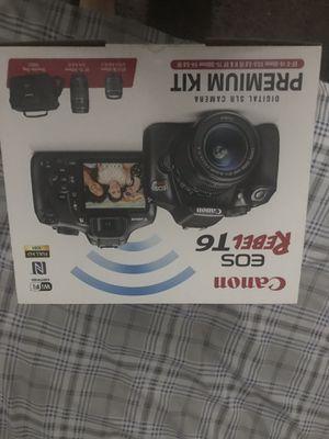 Canon EOS Rebel T6 Camera premium kit for Sale in Fontana, CA
