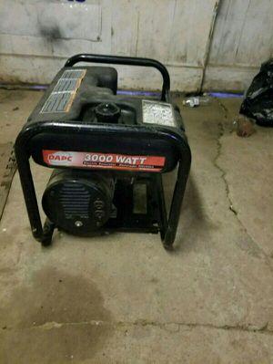 Dapc 3000 watt generator for Sale in Philadelphia, PA