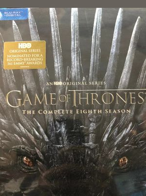 Game of thrones complete season 8 blu ray , BRAND NEW for Sale in Los Angeles, CA