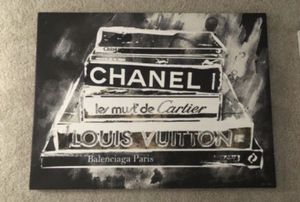 NEW Z-Gallerie 'Philosophy of Fashion' Canvas Art - $299.95 in stores (LARGE) for Sale in Potomac, MD