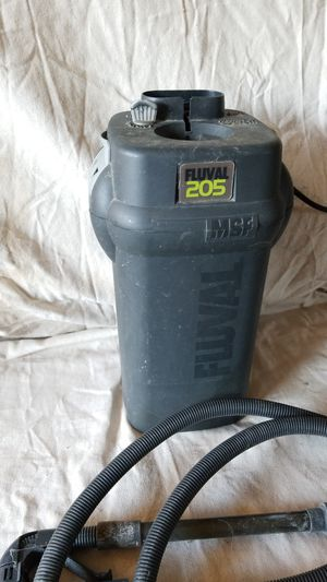 Fluval 205 aquarium canister filter for Sale in Everett, WA