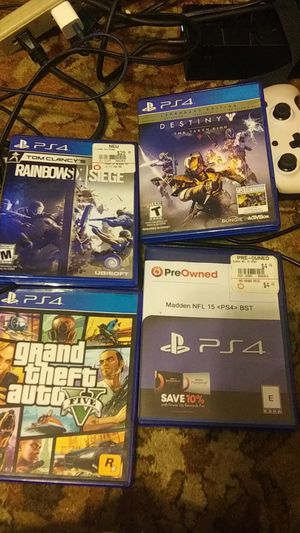 Ps4 games for Sale in Sunbury, PA