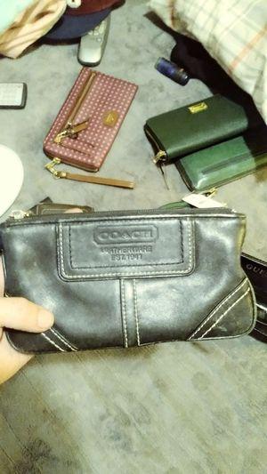 Coach leather wallet for Sale in Salt Lake City, UT