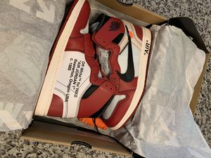 Off White Jordan 1 Factory Authentic Size 9 for Sale in TEMPLE TERR, FL