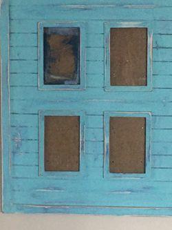 4- 4x6 Collage Shutter Frame for Sale in Virginia Beach,  VA