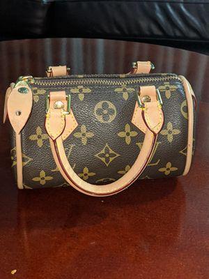 Authentic Louis Vuitton monogram canvas HL Speedy mini bag for Sale in MONTGMRY, IL