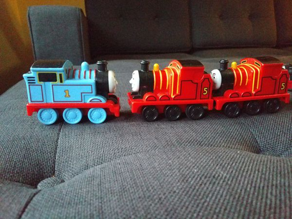 Three Thomas and Friends Engine Car Toy Thomas and James
