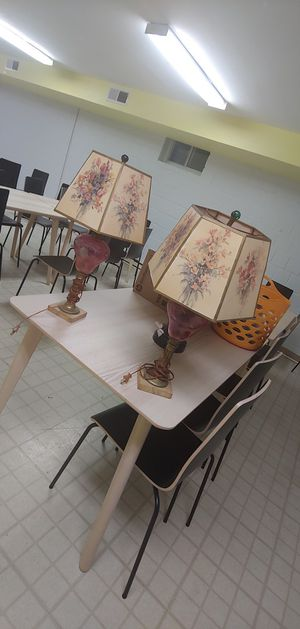 2 antique lamps for Sale in Washington, DC