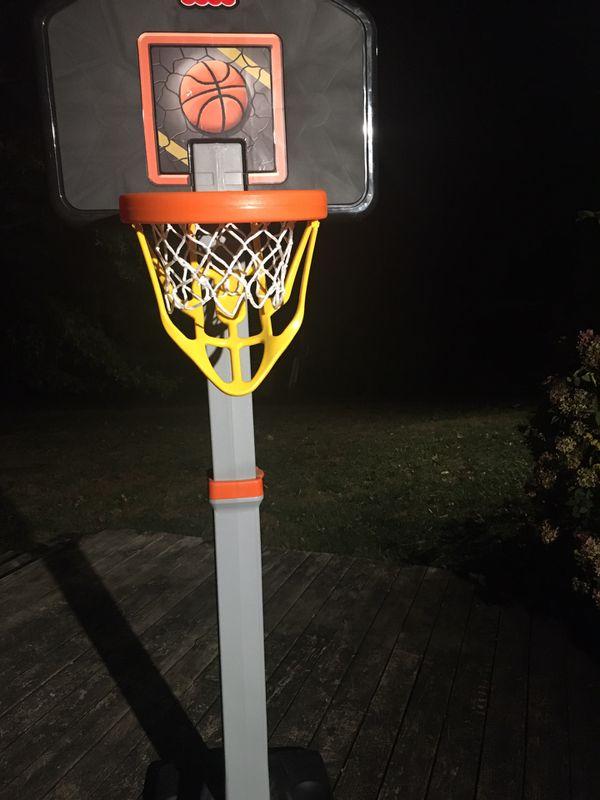 Fisher price basketball hoop