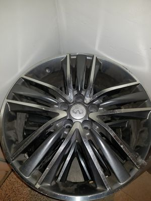 2009-2012 infiniti fx35 oem rims 3 pieces for Sale in Silver Spring, MD