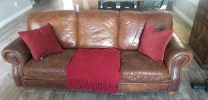 Free Italian leather couch for Sale in Fontana, CA